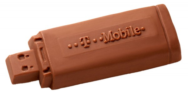 Schokolade USB-Strick