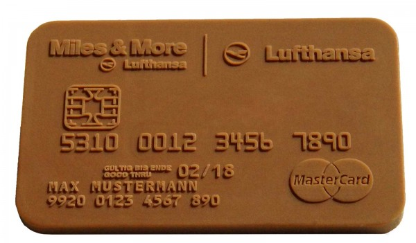 Chocolate Credit Card 85x54mm