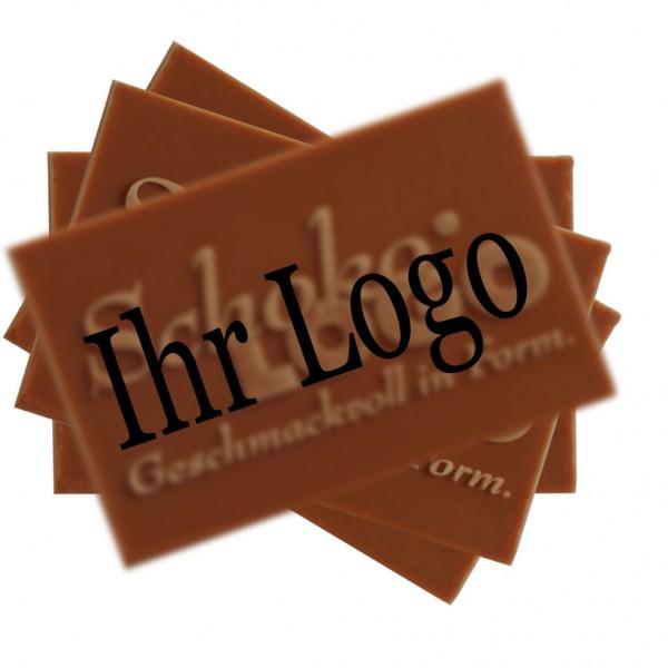 Streuartikel Schokolade Logo Event