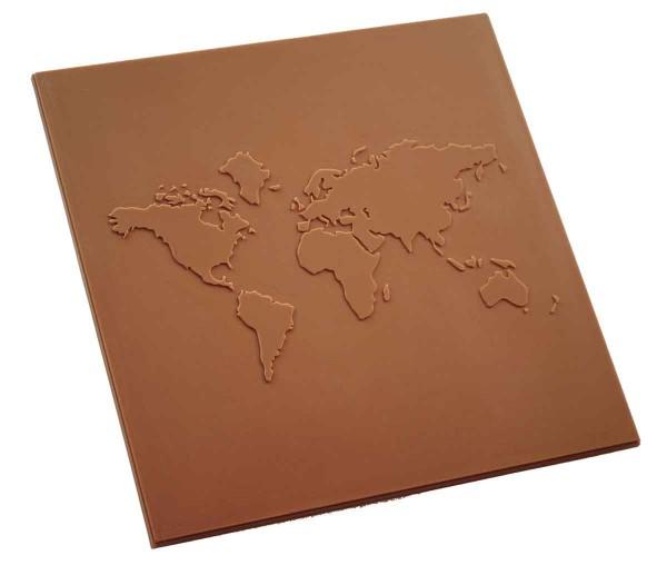 Schoko Welt-Karte