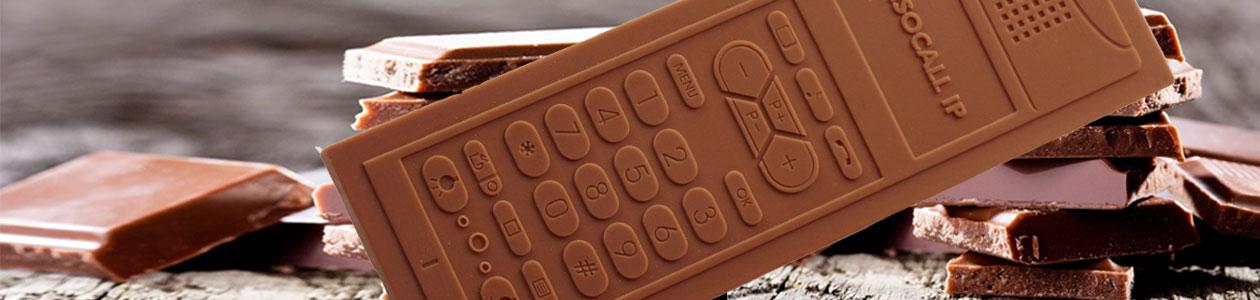 Giveaways aus Schokolade