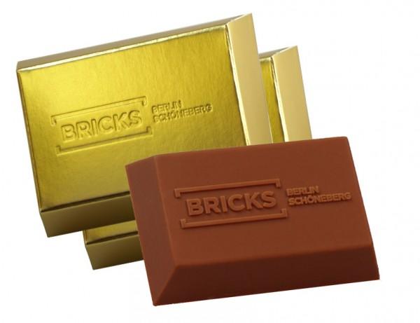 Bespoke Chocolate Goldbar 30g