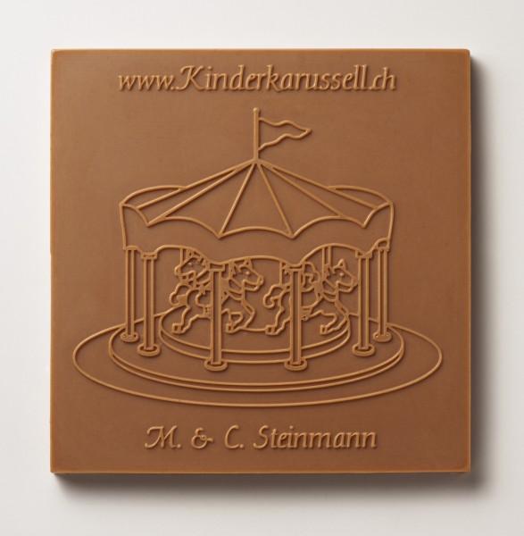 Kinderkarusell-Schokolade