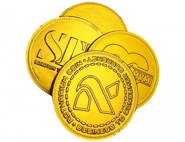schoko-münzen
