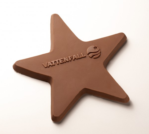 Custome-Chocolate-Star