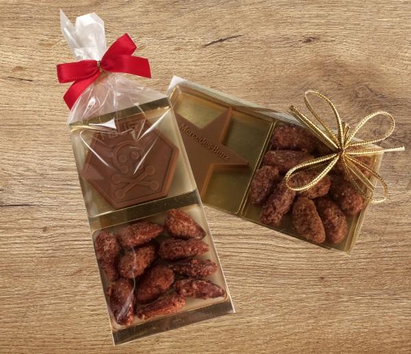 Schoko-Mandeln Geschenk