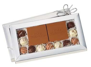 Chocolate Logo Waffle Box