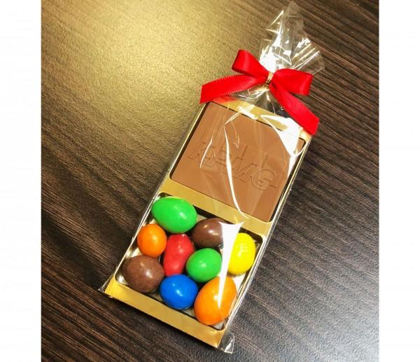 Schoko M&M's Geschenk