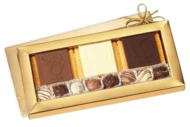 Shortbread Pralines - Bespoke Chocolate