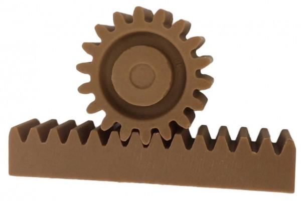 Zahnrad & Stange Schokolade